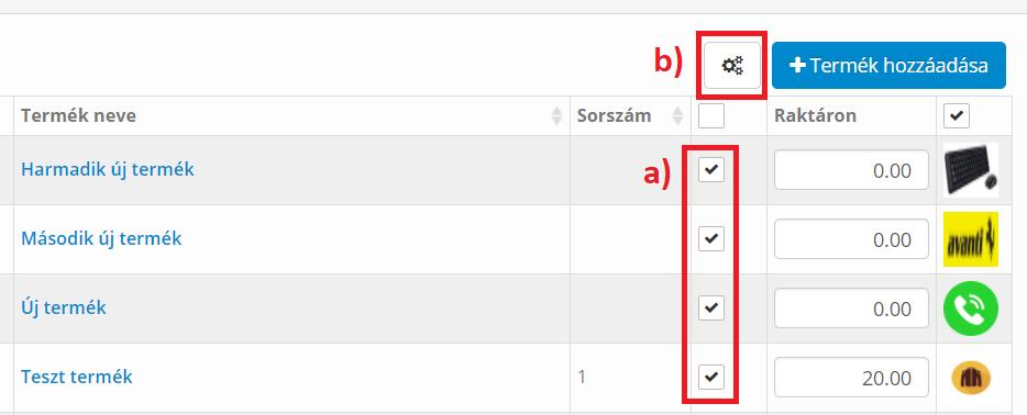 Automatikus Új címkék tömeges beállítása 1.