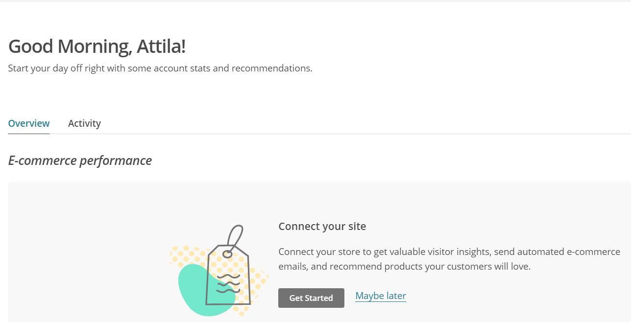 Elérhetővé vált a MailChimp admin felülete