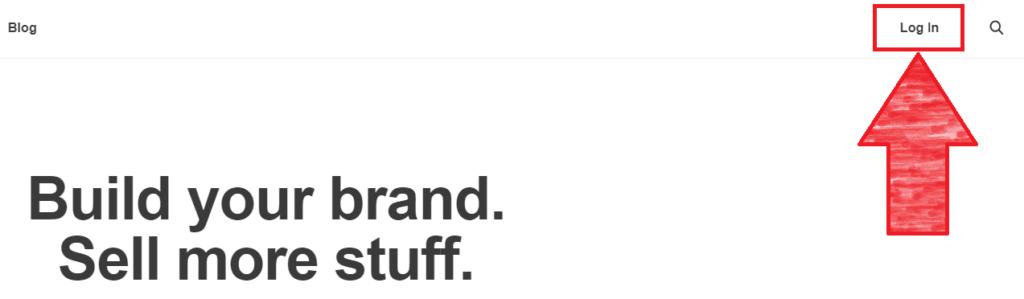 Bejelentkezés a MailChimp felületére