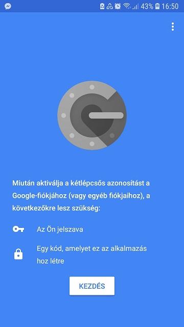 Google Hiteleső - első lépések
