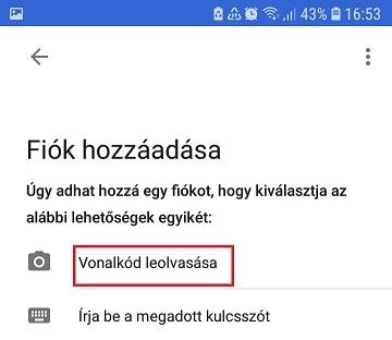 Google Hitelesítő beállítása