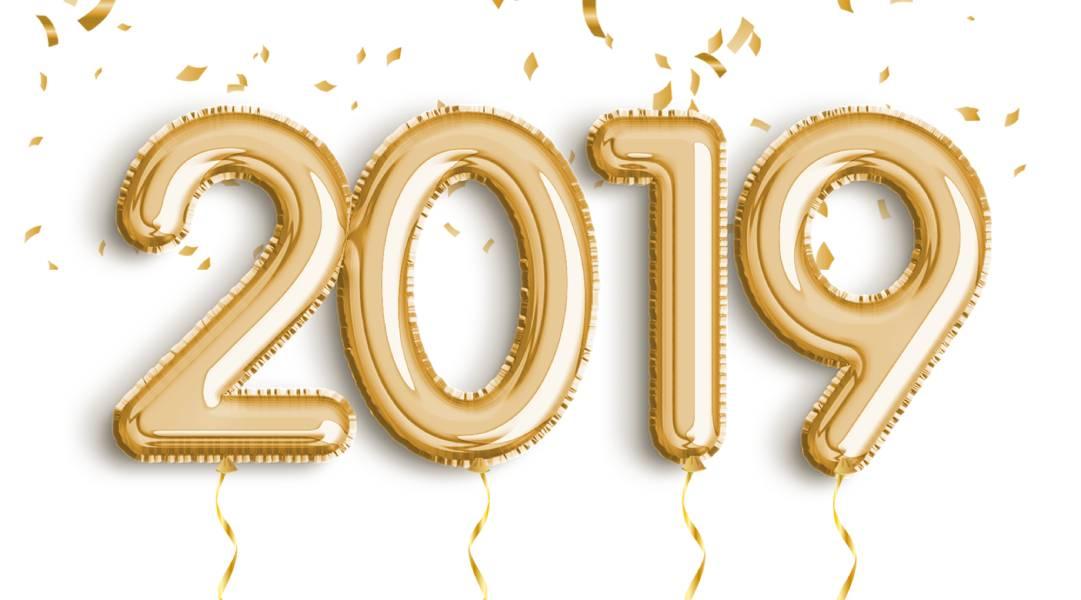 2019 - Boldog új évet kívánunk!